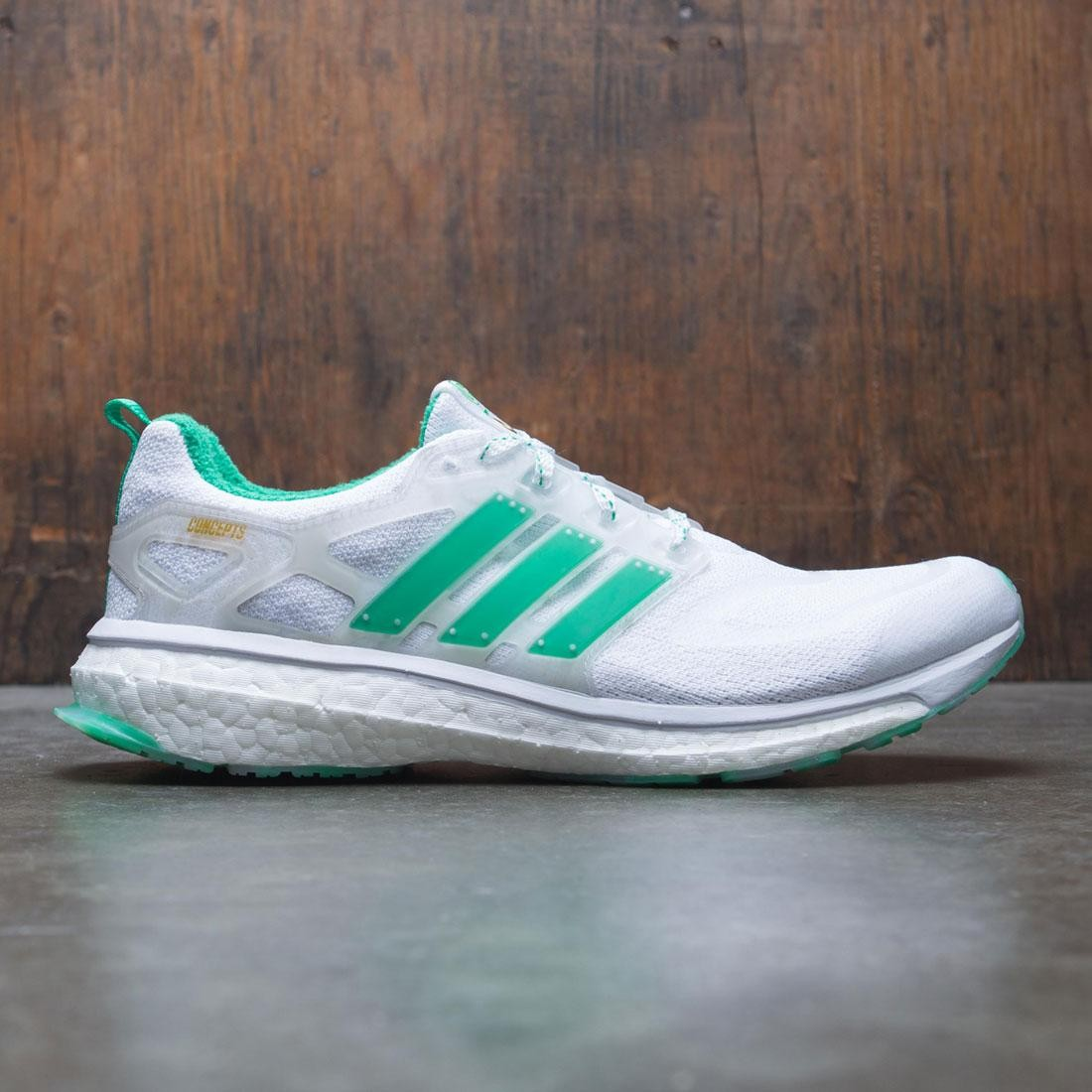 reputable site e6720 6bfba Adidas Consortium x Concepts Men Energy BOOST white blast emerald power teal