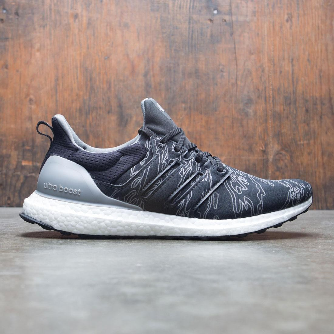 Adidas x Undefeated Men UltraBOOST (black / clear onix)