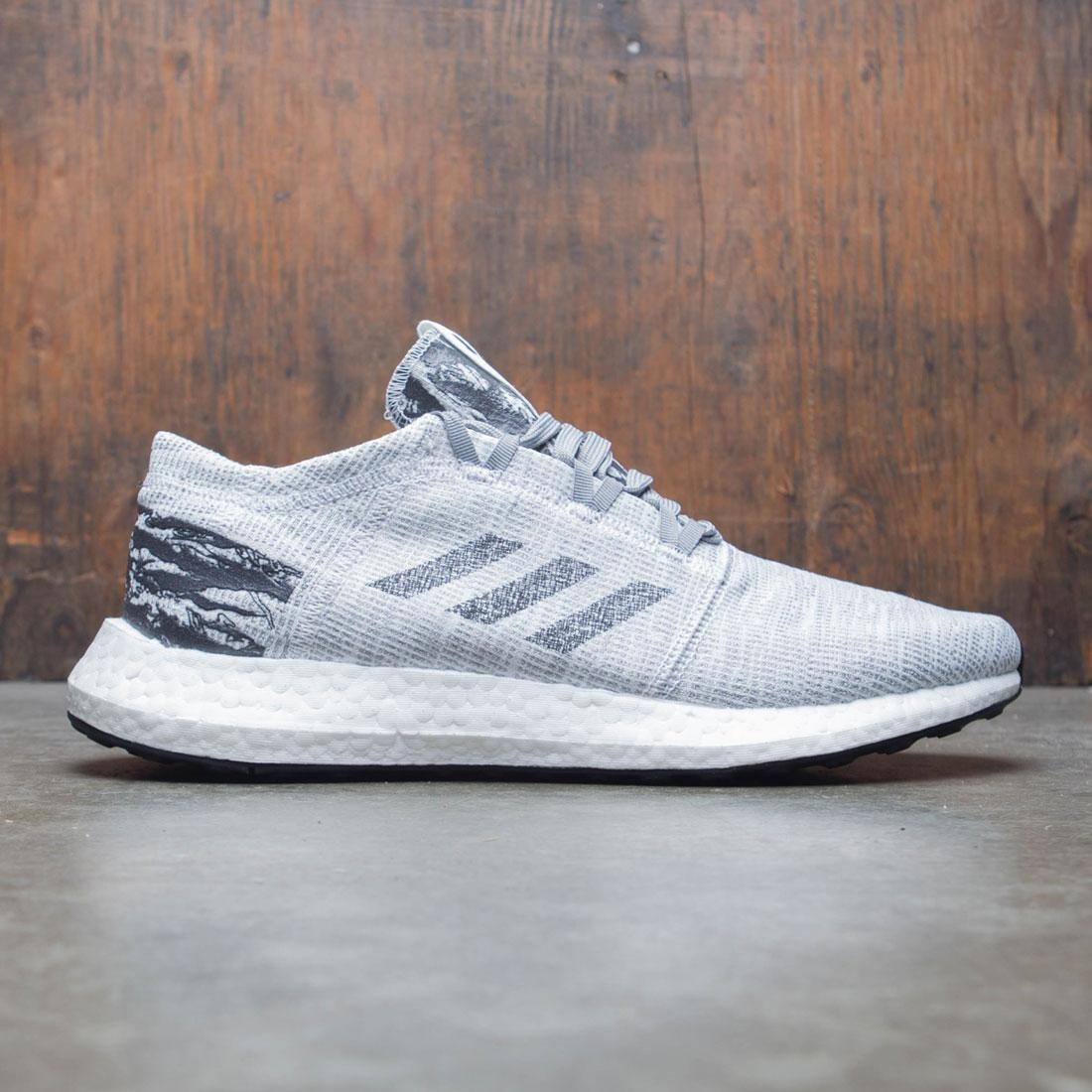 Adidas x Undefeated Men Pureboost GO (gray / shift grey / cinder / utility black)