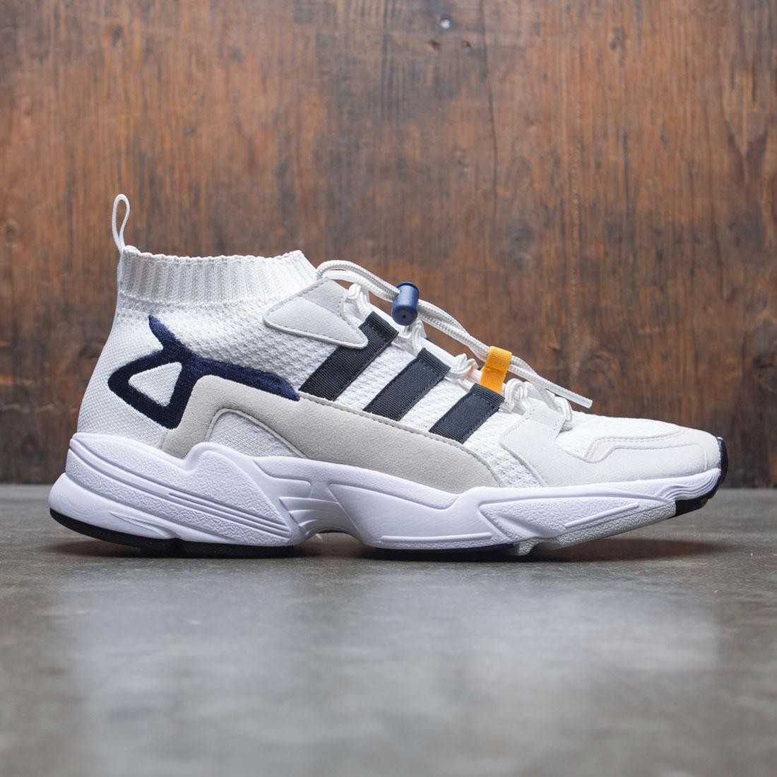 new style 6c2bc ee7f4 Adidas Consortium Men Falcon Workshop white black blue