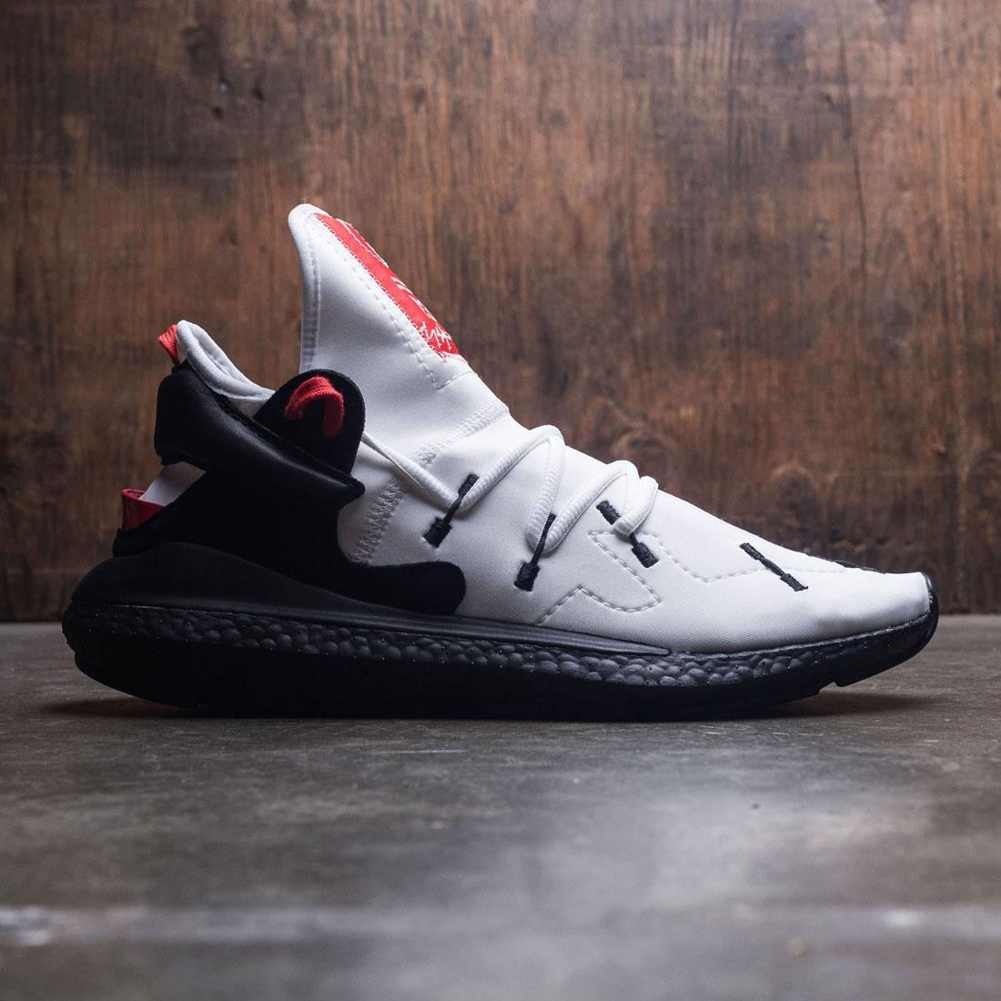 1b0f93331 Adidas Y-3 Men Kusari II white black lush red