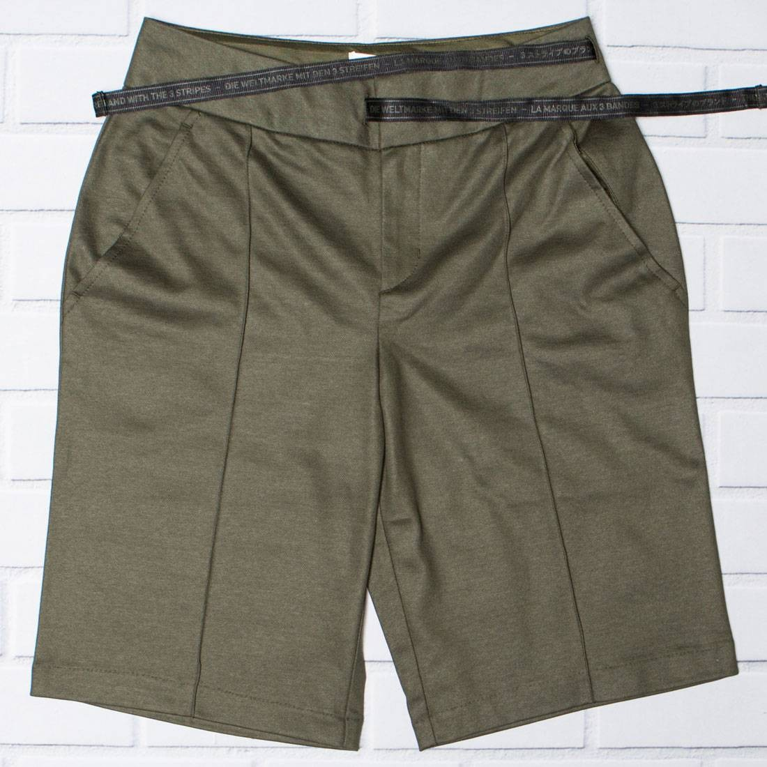 Adidas Women Boxy NMD Shorts (brown / night cargo)