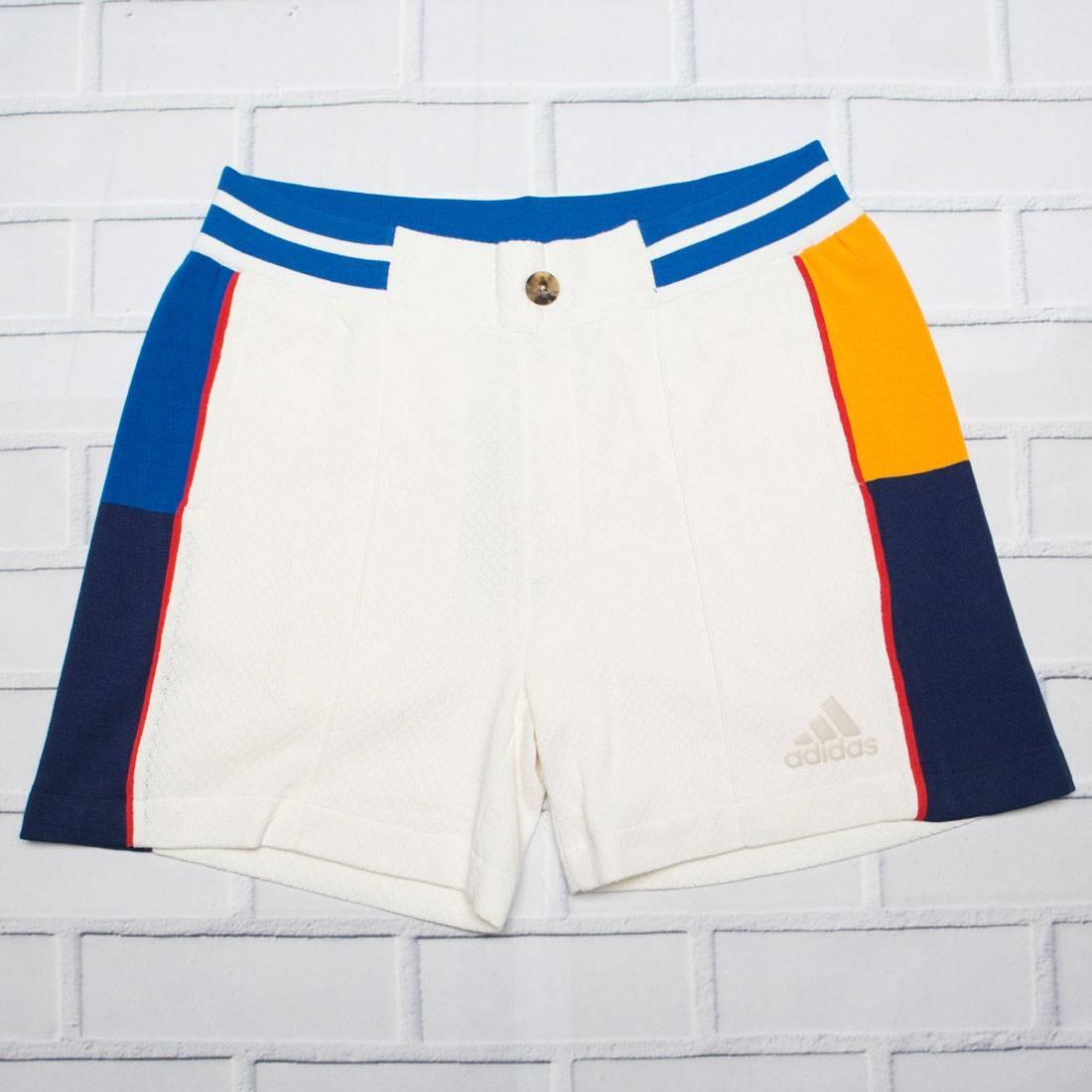 Adidas x Pharrell Williams Men NY Colorblock Shorts LTD (white / chalk white / blue)