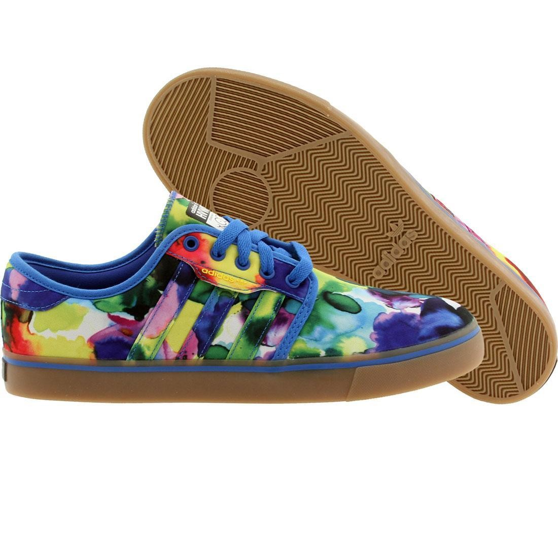 Adidas Skate x HVW8 Men Seeley (blue bird / yellow / black)
