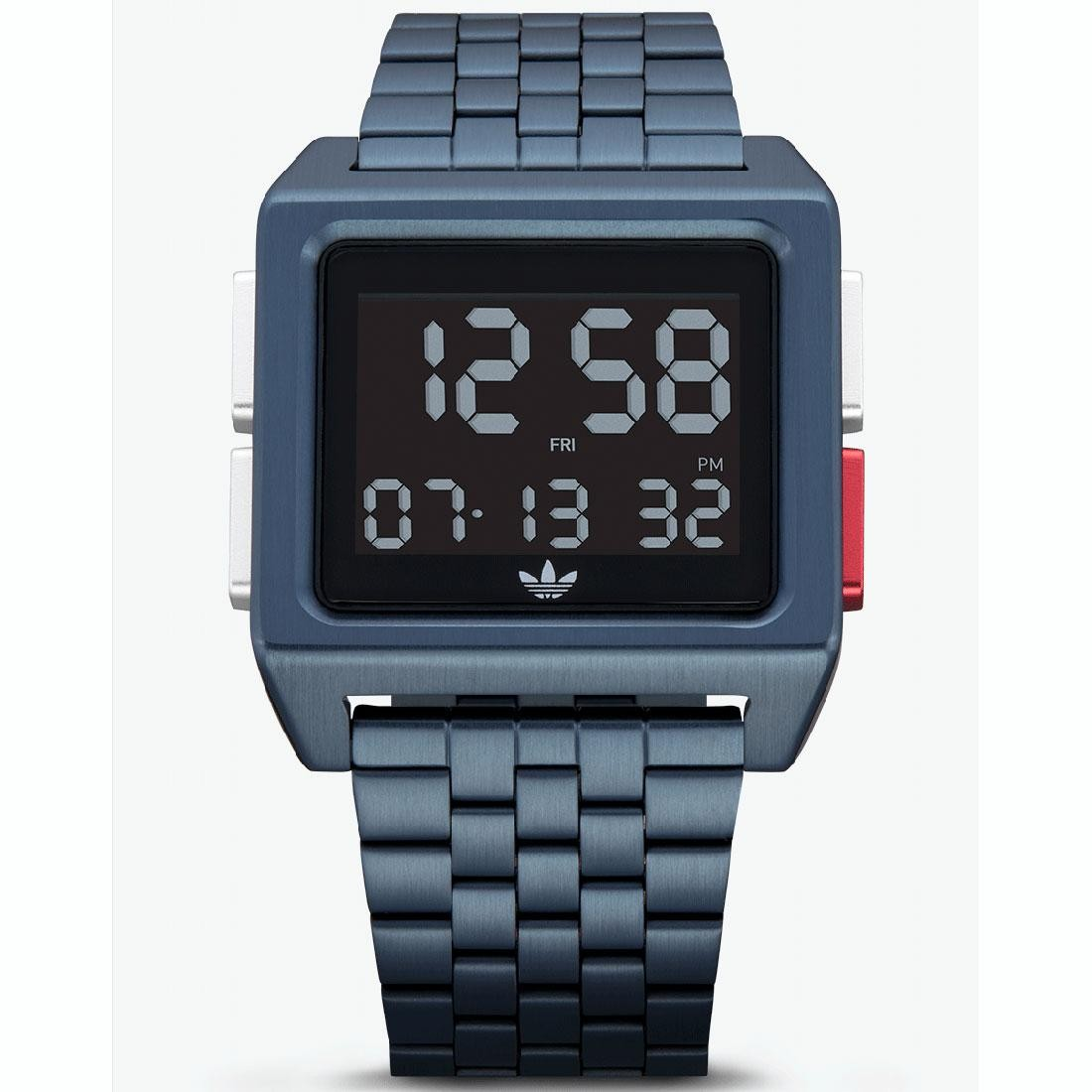 Adidas ARCHIVE_M1 Z01-3041-00 Watch (navy / black / silver / red)