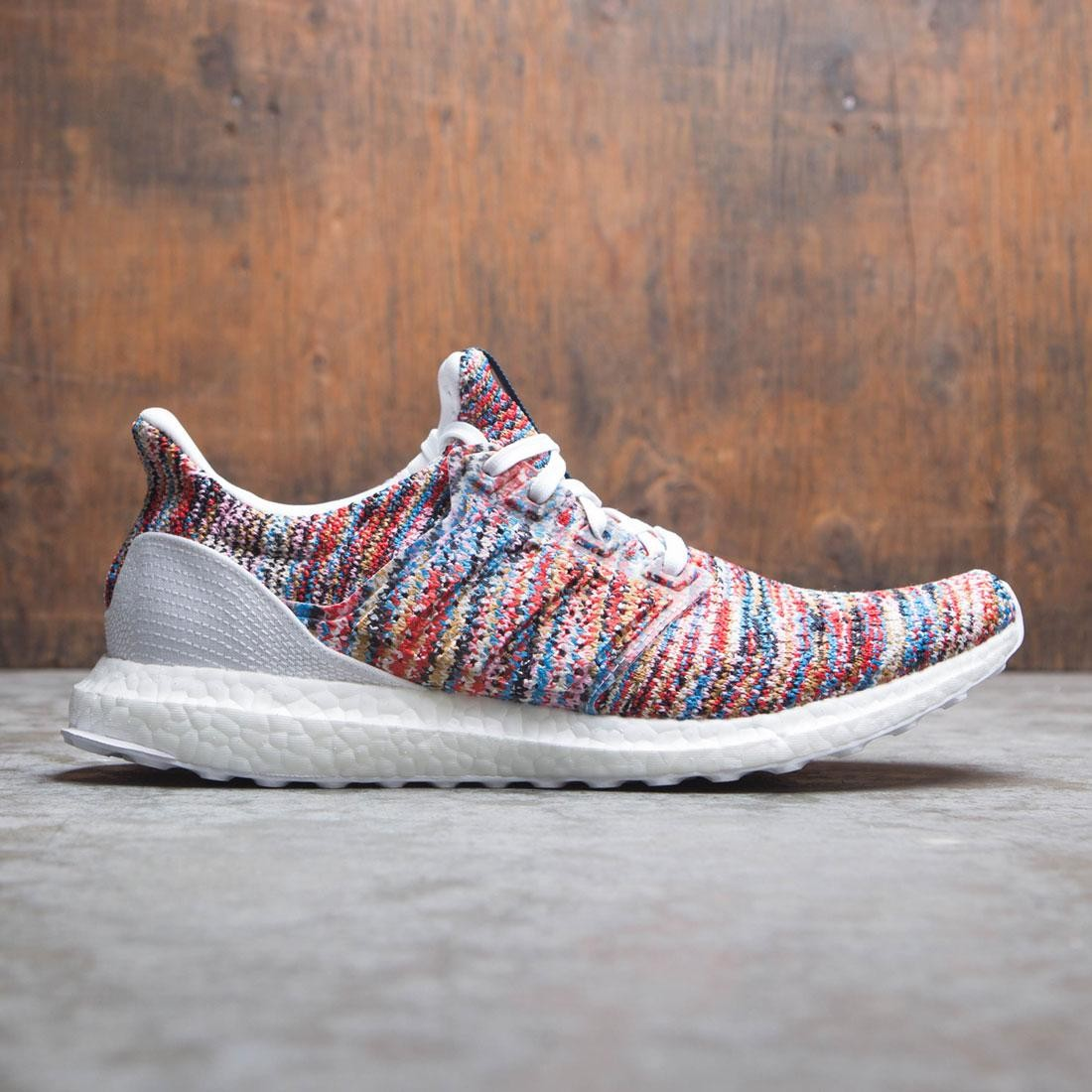 c83378b26c6 Adidas x Missoni Men UltraBOOST CLIMA white shock cyan active red