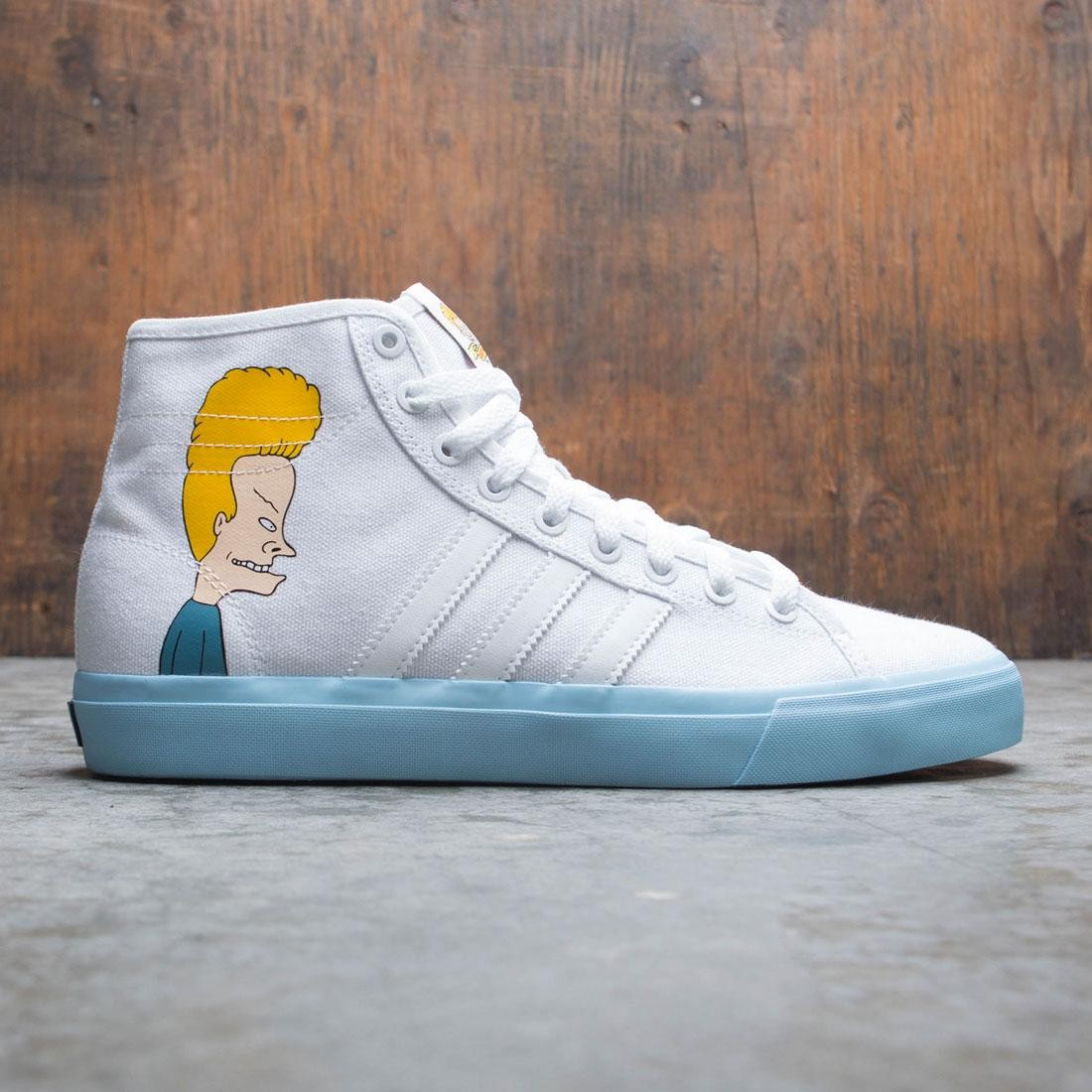 Adidas Men Matchcourt High Remix Beavis And Butthead (white / icey blue / core black)