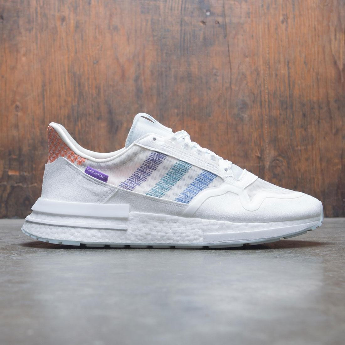 ceedeadf9 Adidas Consortium x Commonwealth Men ZX 500 RM white orchid tint