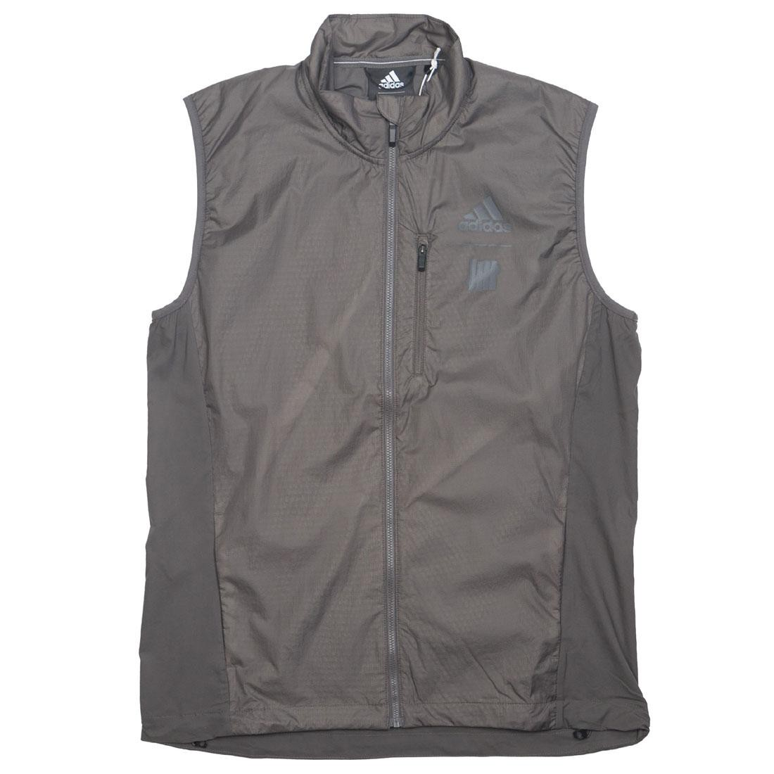 Adidas x Undefeated Men Running Vest (gray / cinder)