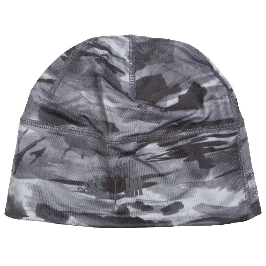 Adidas x Undefeated Running Beanie black reflective utility black shift grey a814532198a