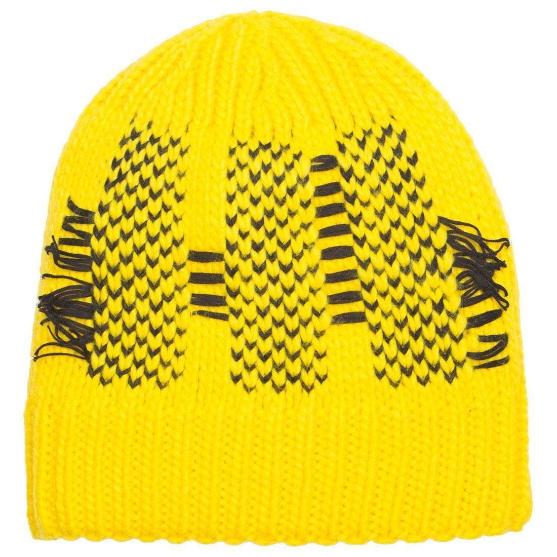 Adidas Y-3 Y3 Knit Beanie (yellow)
