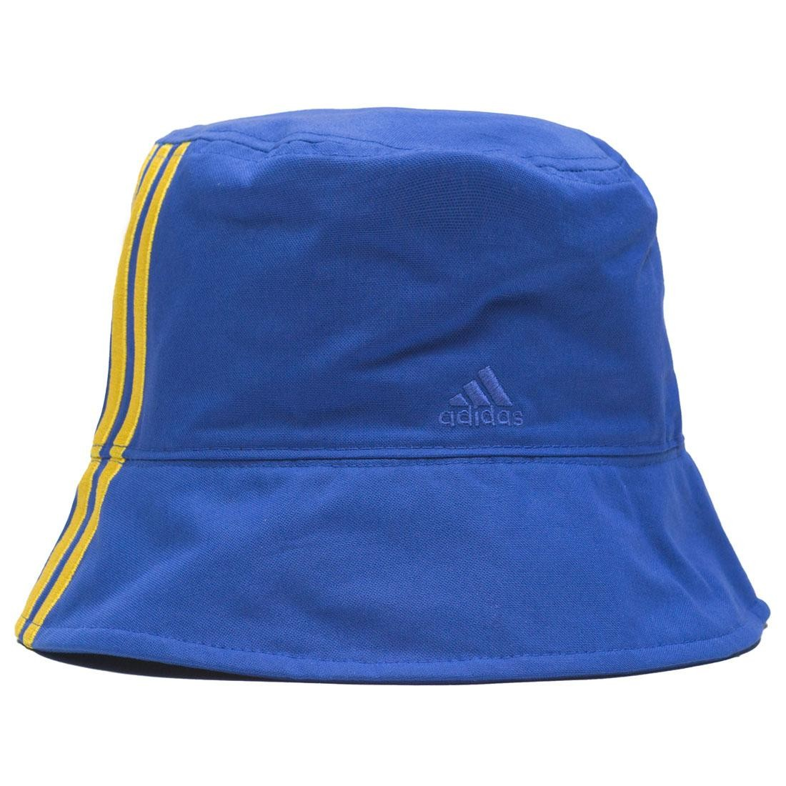 finest selection 15009 879d6 Adidas Consortium x Engineered Garments Reversible Bucket Hat (blue / bold  blue)