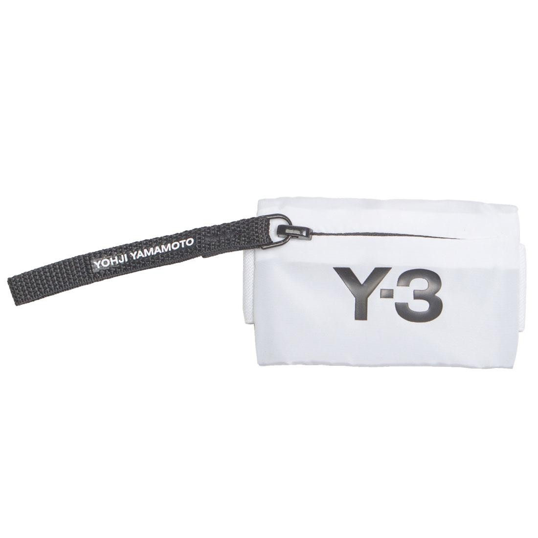 Adidas Y-3 Mini Wrist Wallet (white)