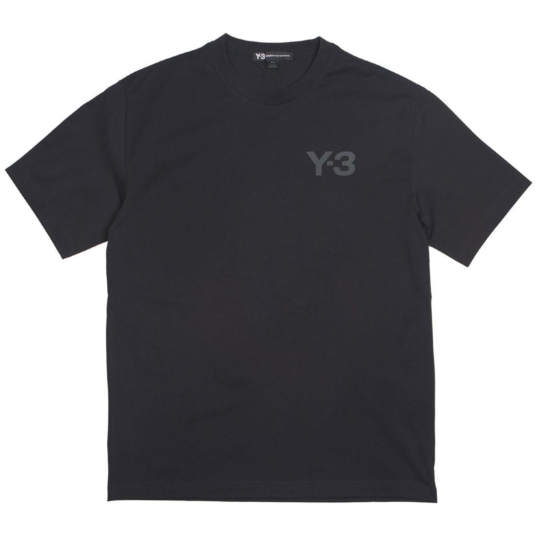 Adidas Y-3 Men Logo Short Sleeve Tee (black)