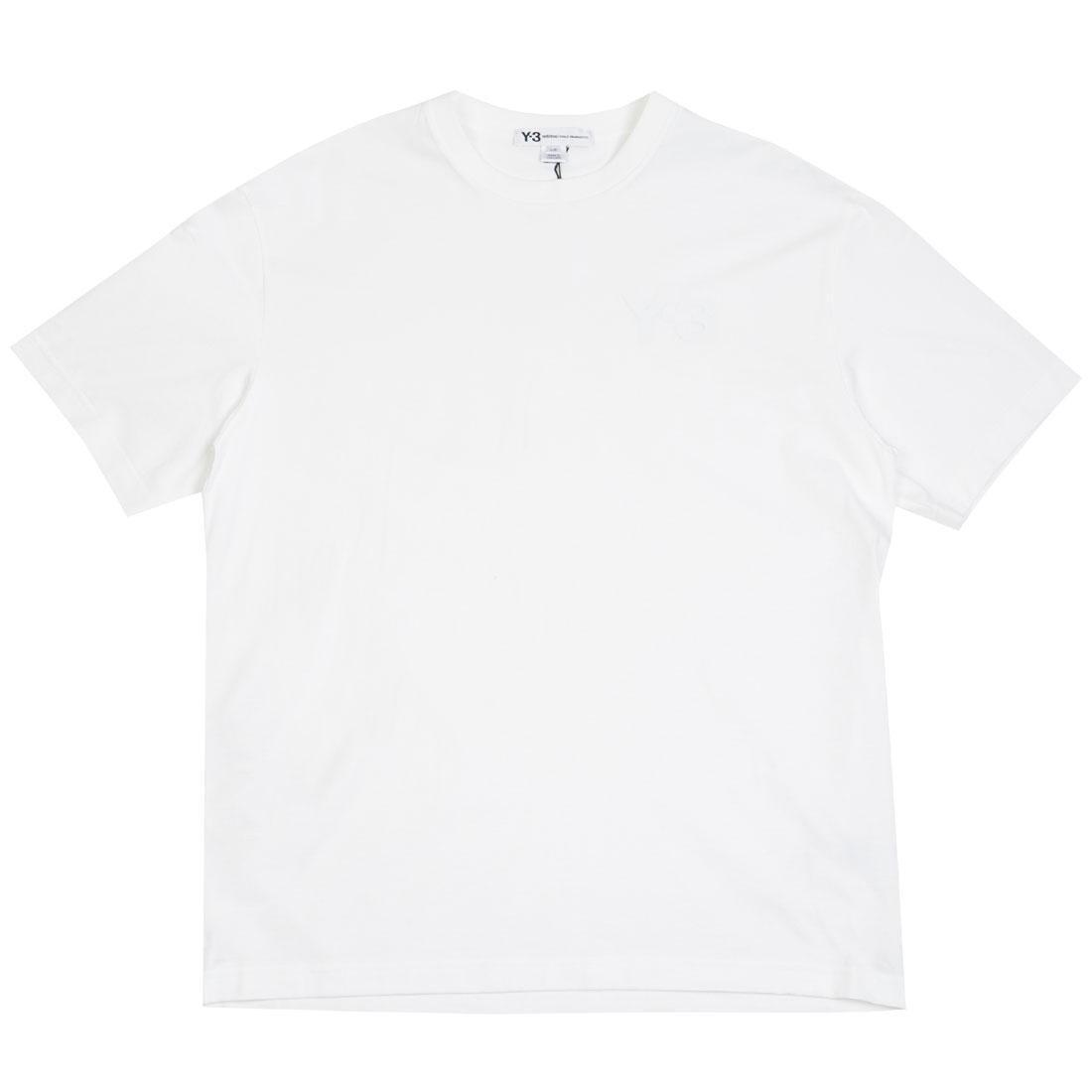 Adidas Y-3 Men Logo Short Sleeve Tee (white)