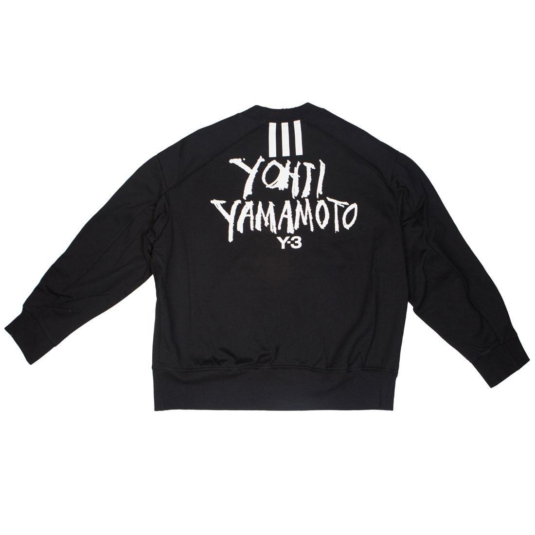 Adidas Y-3 Men Signature Graphic Crew Sweater (black)