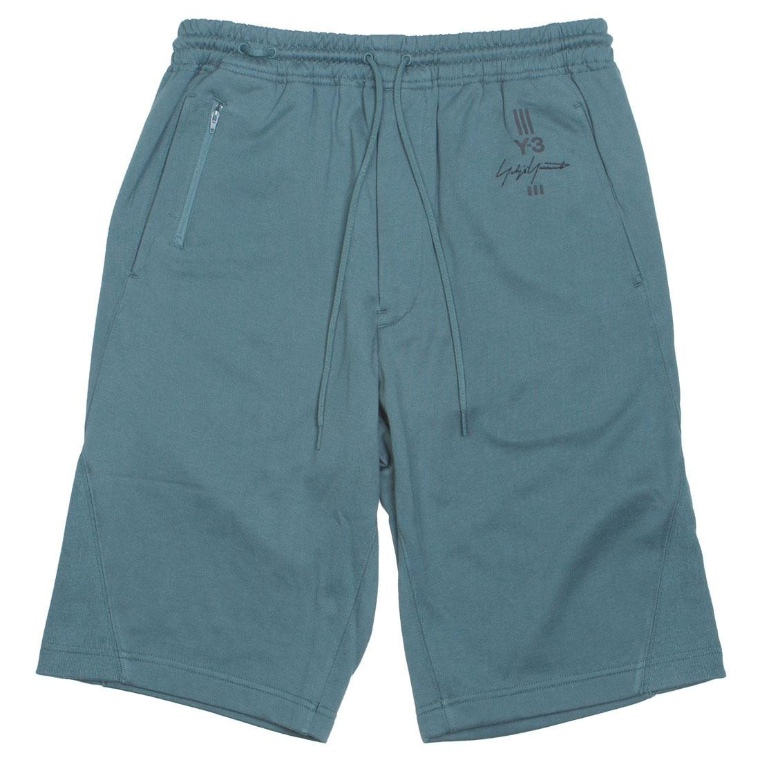 Adidas Y-3 Men New Classic Shorts (green / petrol green)