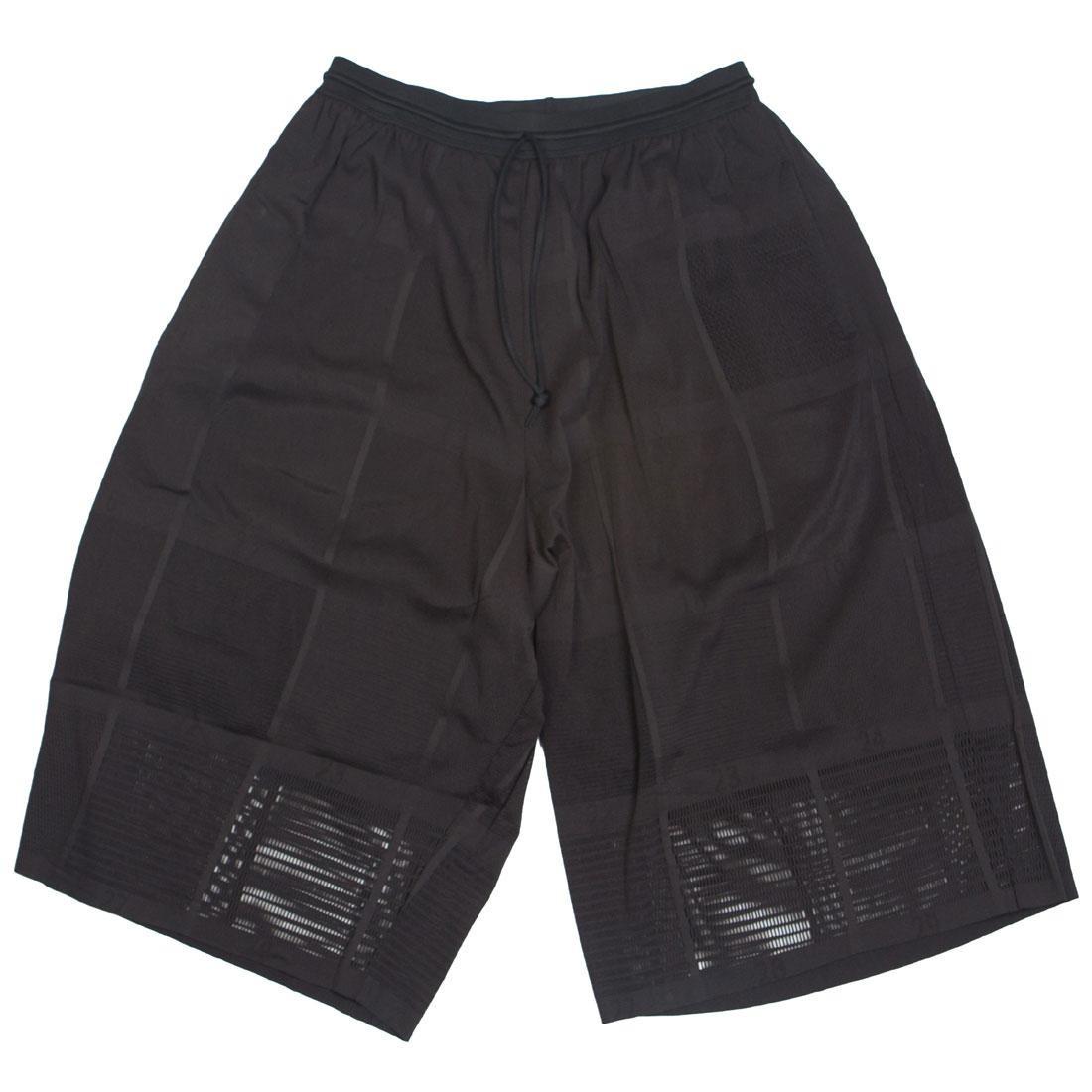 Adidas Y-3 Unisex Batchwork Mesh Shorts (black)
