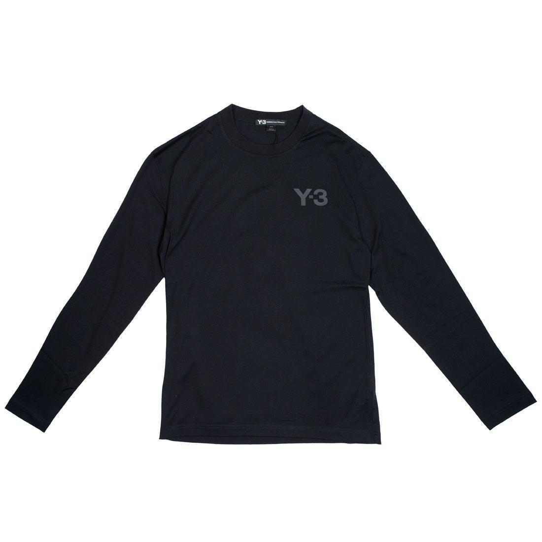 Adidas Y-3 Men Logo Long Sleeve Tee (black)