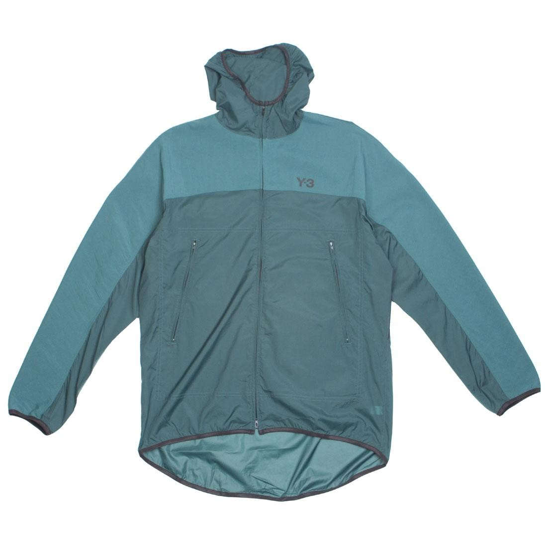 Adidas Y-3 Men Adizero Packable Jacket (green / petrol green)