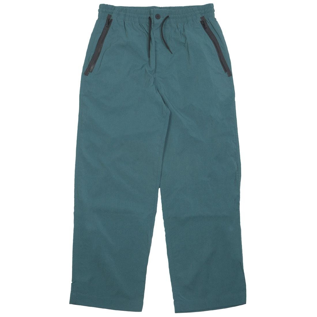 Adidas Y-3 Men Nylon Twill Slim Pants (green / petrol green)