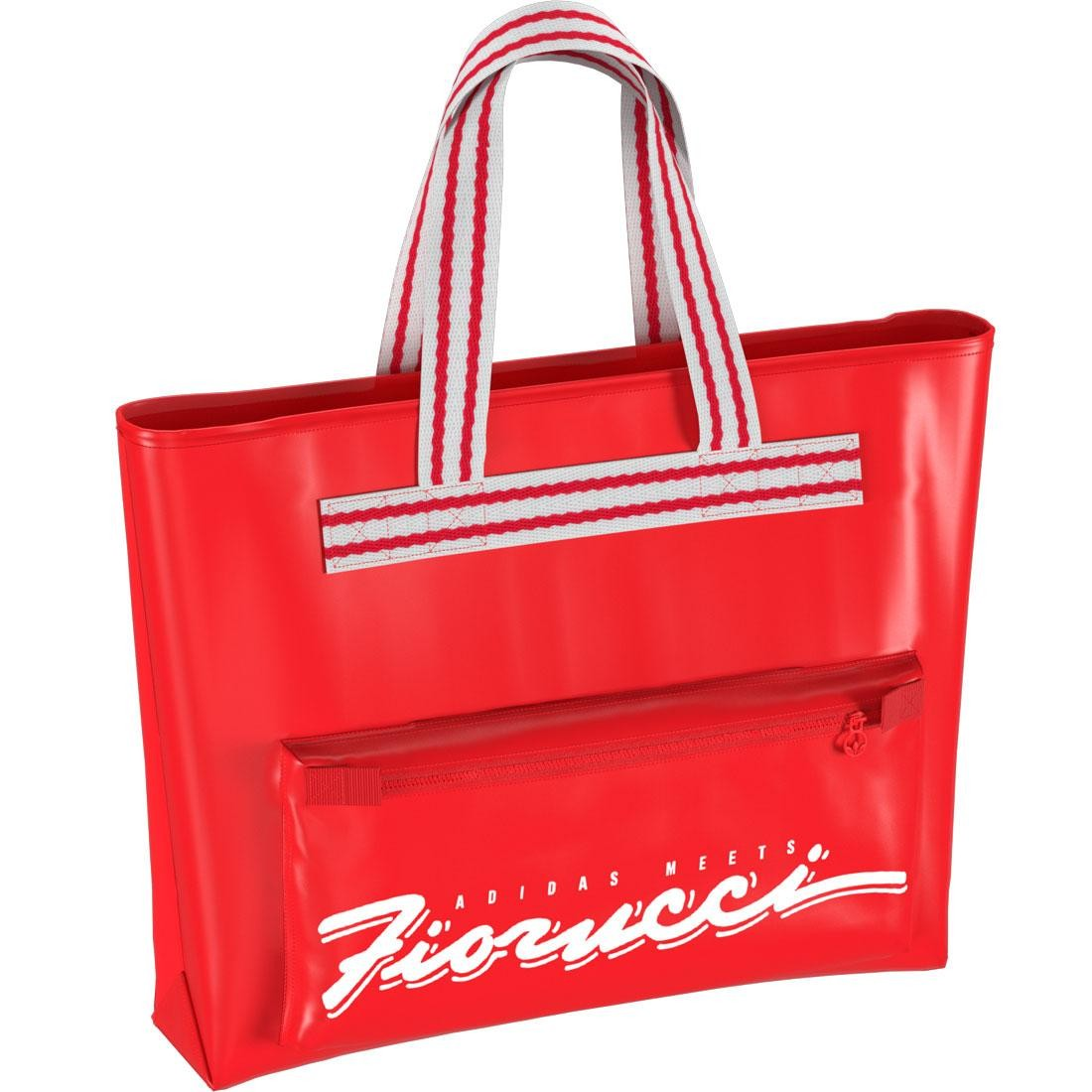 Adidas x Fiorucci Stripe Tote Bag (red)