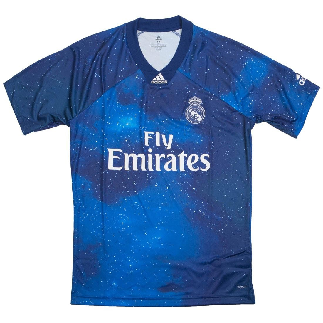 wholesale dealer 52a59 867e5 Adidas Men Real Madrid EA SPORTS Jersey (blue / unity ink / white)