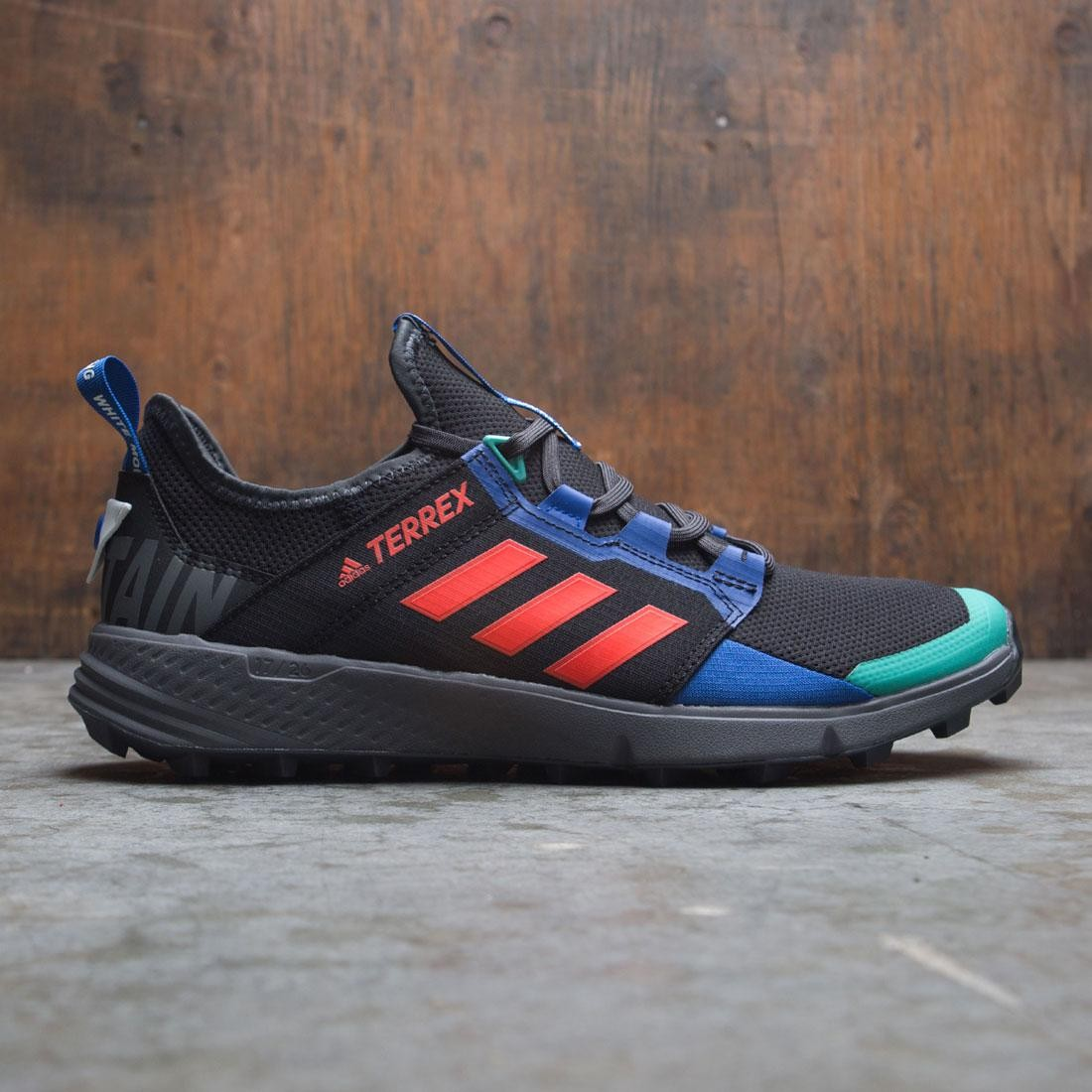 Adidas x White Mountaineering Men Terrex Agravic Speed + (black / active orange / collegiate royal)