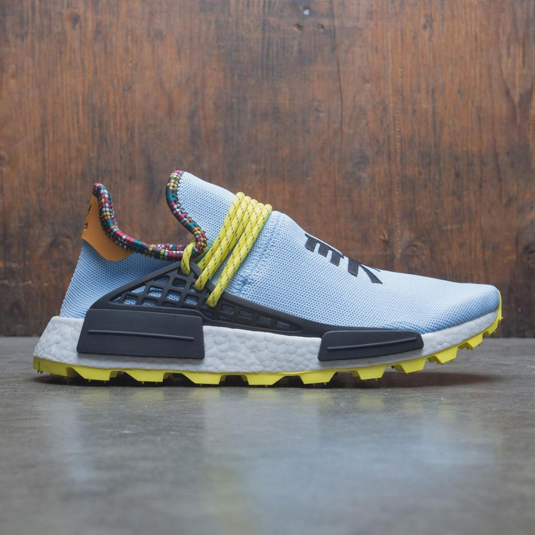 01ecfad29 Adidas x Pharrell Williams Men Solar HU NMD blue core black bright orange