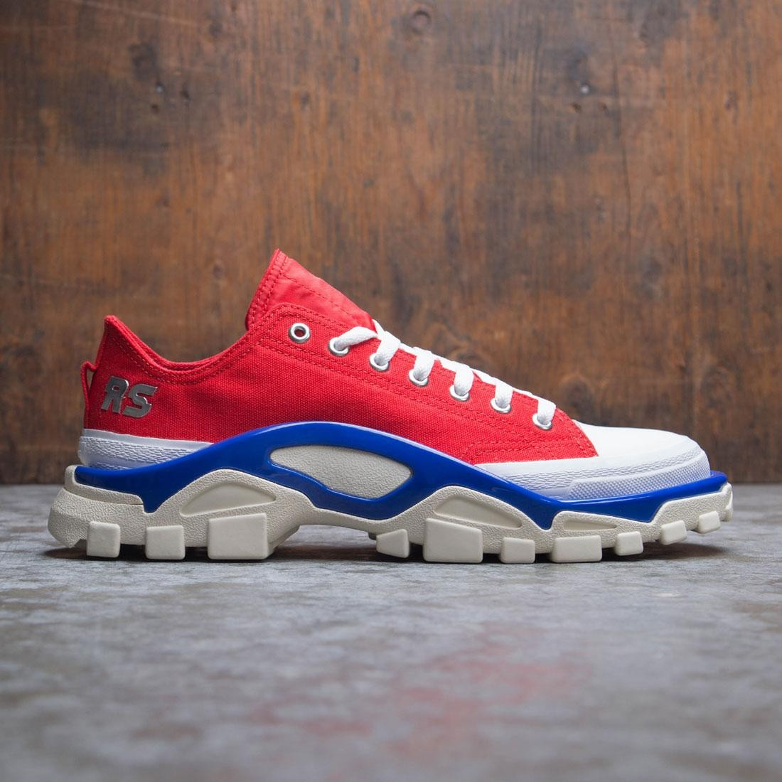Adidas Raf Simons Men Detroit Runner (red / silver metallic / bold blue)