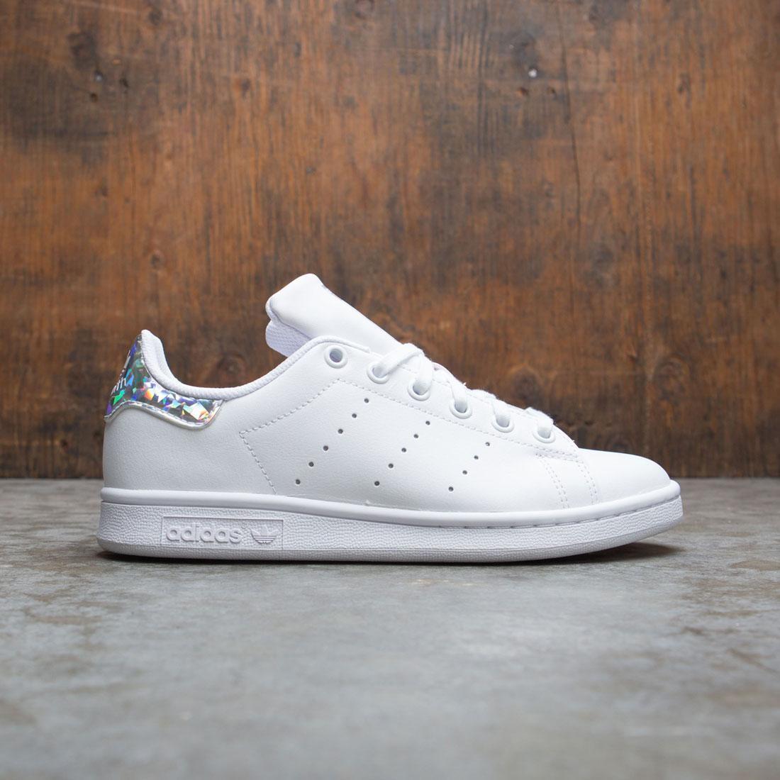 Adidas Big Kids Stan Smith J (white / footwear white / core black)