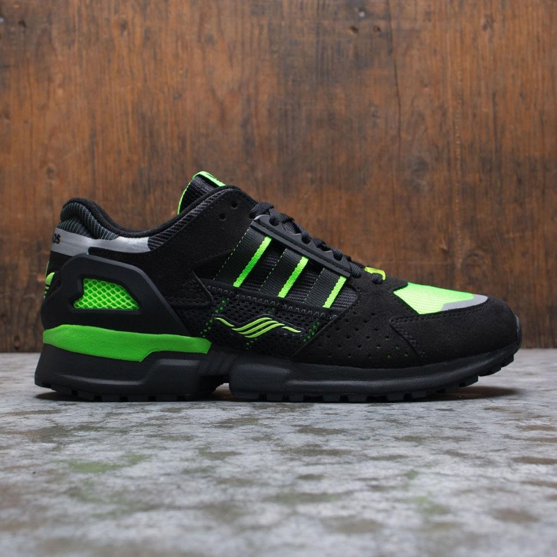 Adidas Men ZX 10000 C (black / solar green / reflective)