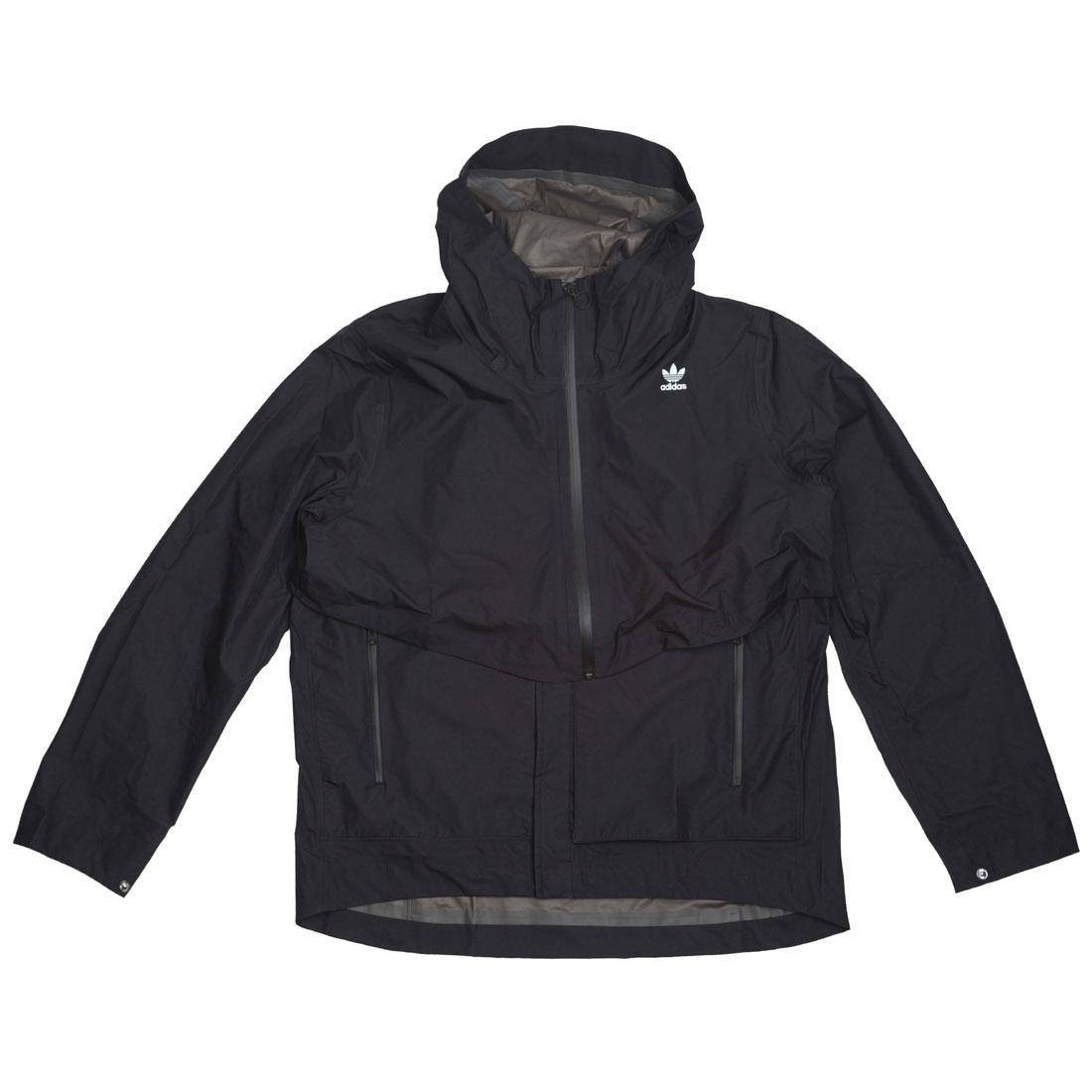 BAIT x Adidas Consortium Men ACMON GTX Jacket (black / semi frozen yellow)