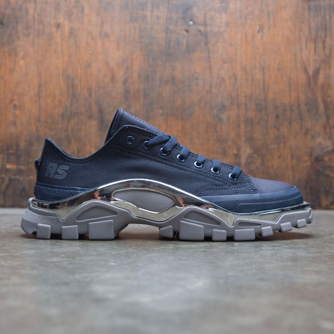 c7c36569b482 Adidas Raf Simons Men Detroit Runner navy night navy ch solid grey
