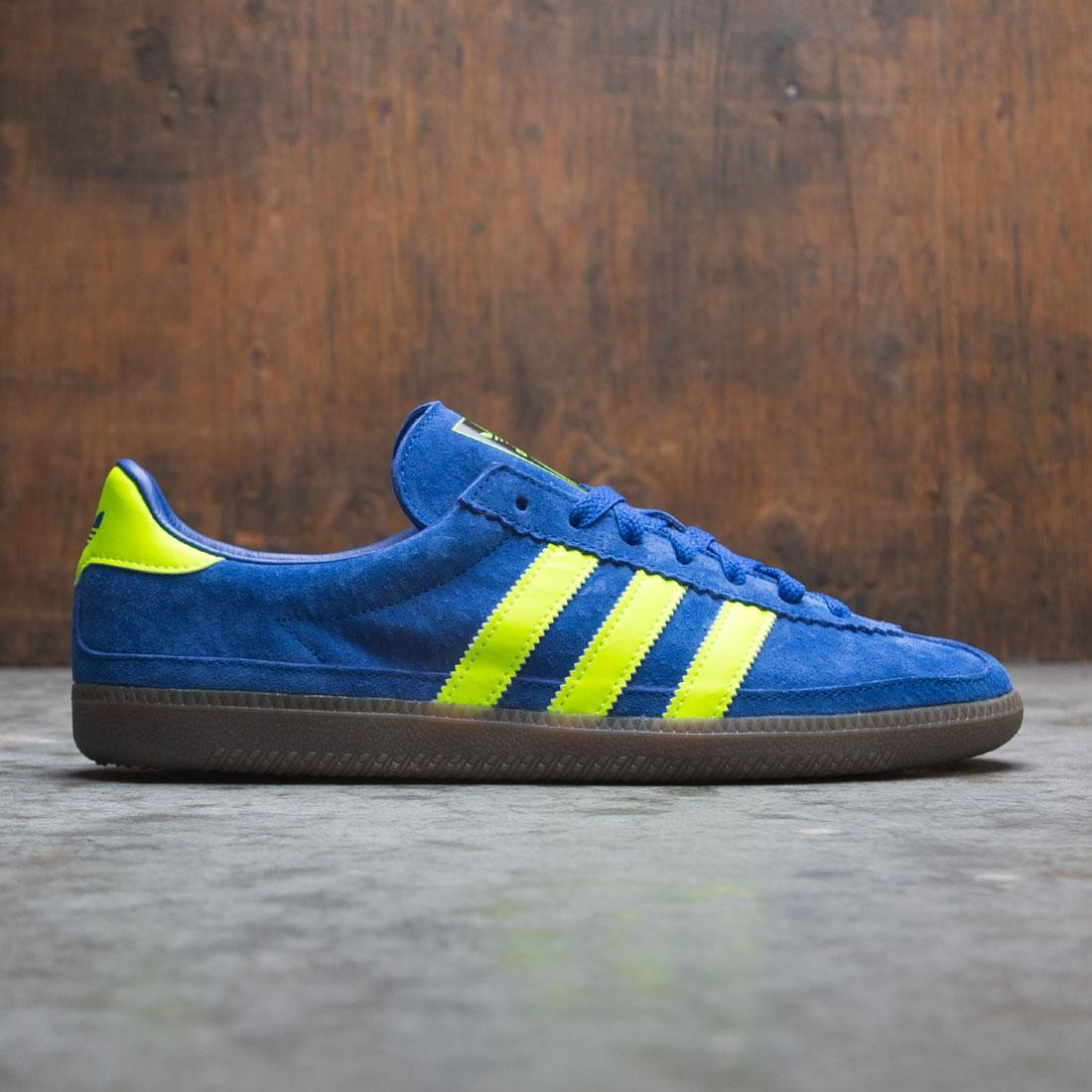 Adidas Men Whalley SPZL (blue/ active blue / semi solar green / easy yellow)