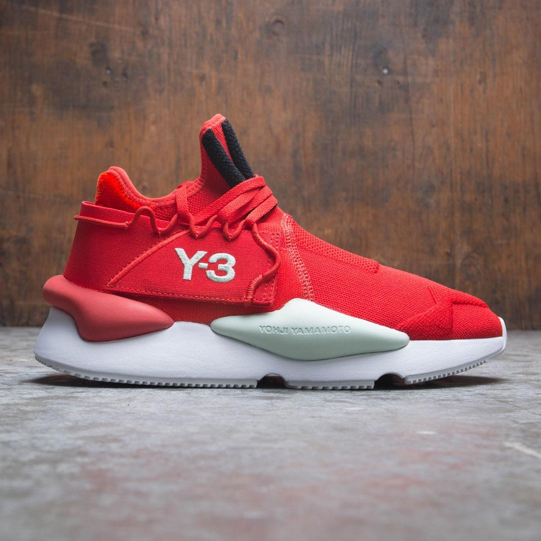 48d192d97ce5e Adidas Y-3 Men Kaiwa Knit red core black salty green
