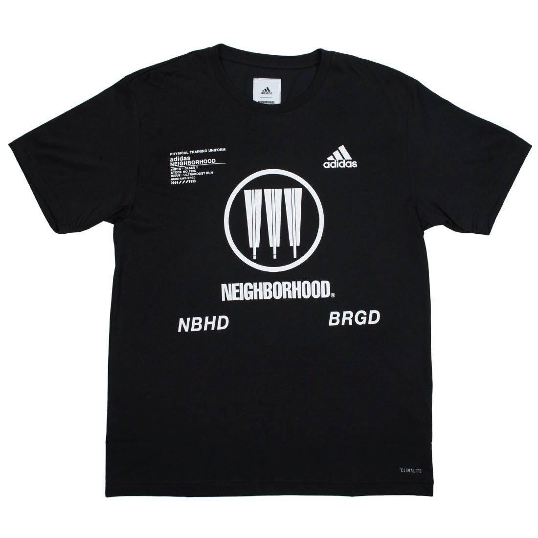 Adidas x Neighborhood Men SSL NBHD Tee (black)