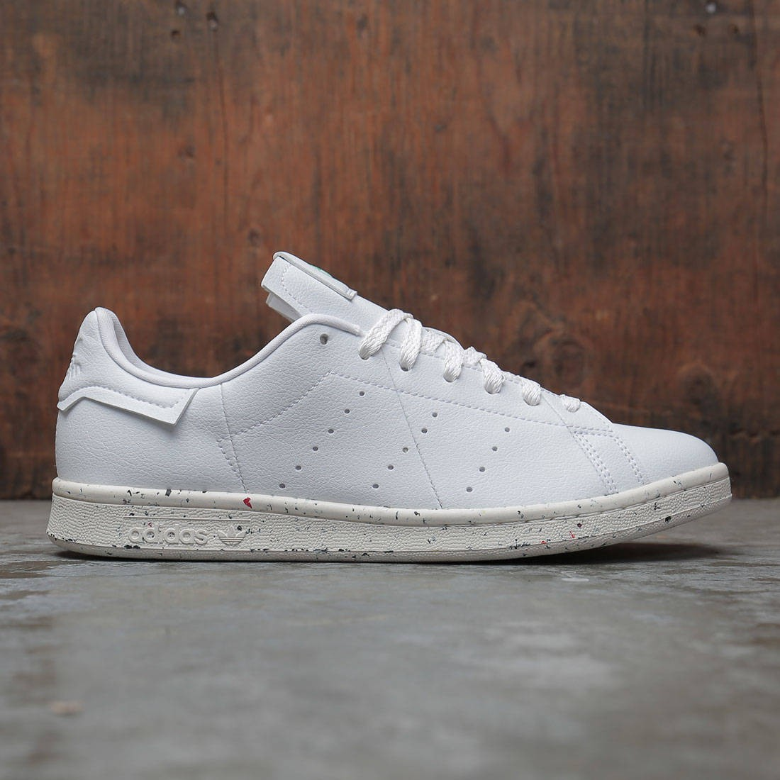 Adidas Men Stan Smith (white / off white / green)