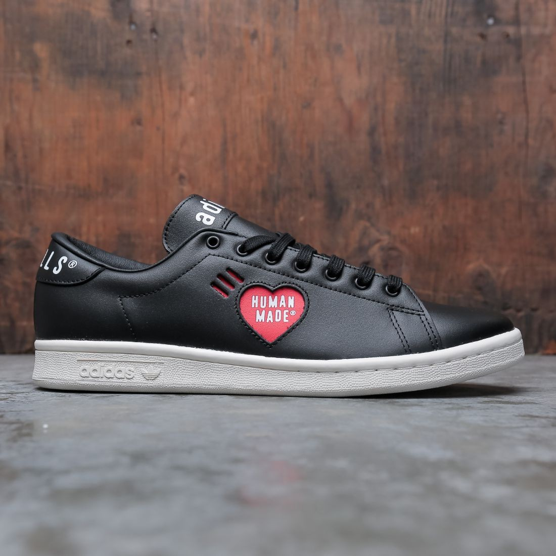 Adidas x Human Made Men Stan Smith (black / footwear white / off white)