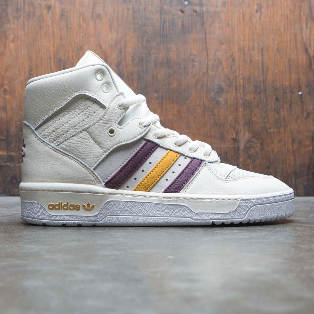 Adidas x Eric Emanuel Men Rivalry Hi (white / crystal white / night red / real pink / bold gold)