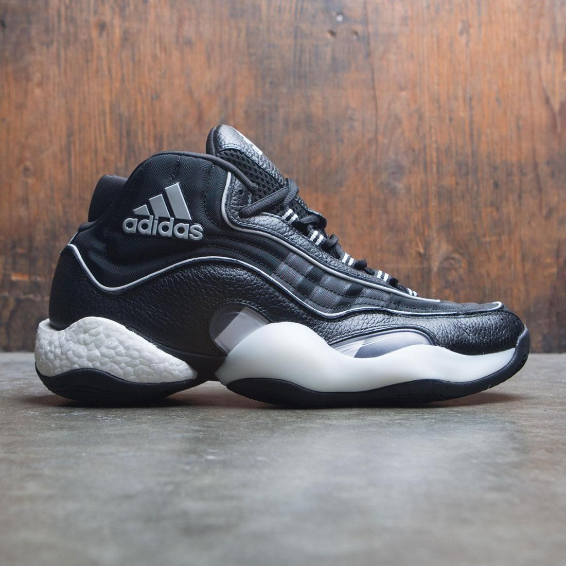 classic fit a39bb e8966 Adidas Men 98 x Crazy BYW black grey two core white
