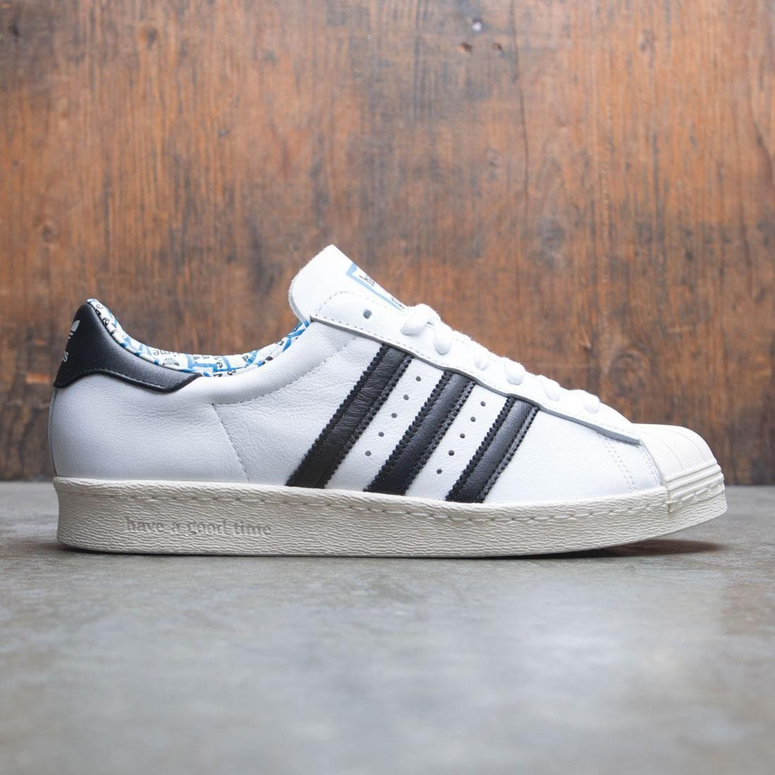 d5680c99dad2 Adidas x Have A Good Time Men Superstar 80s white core black chalk white