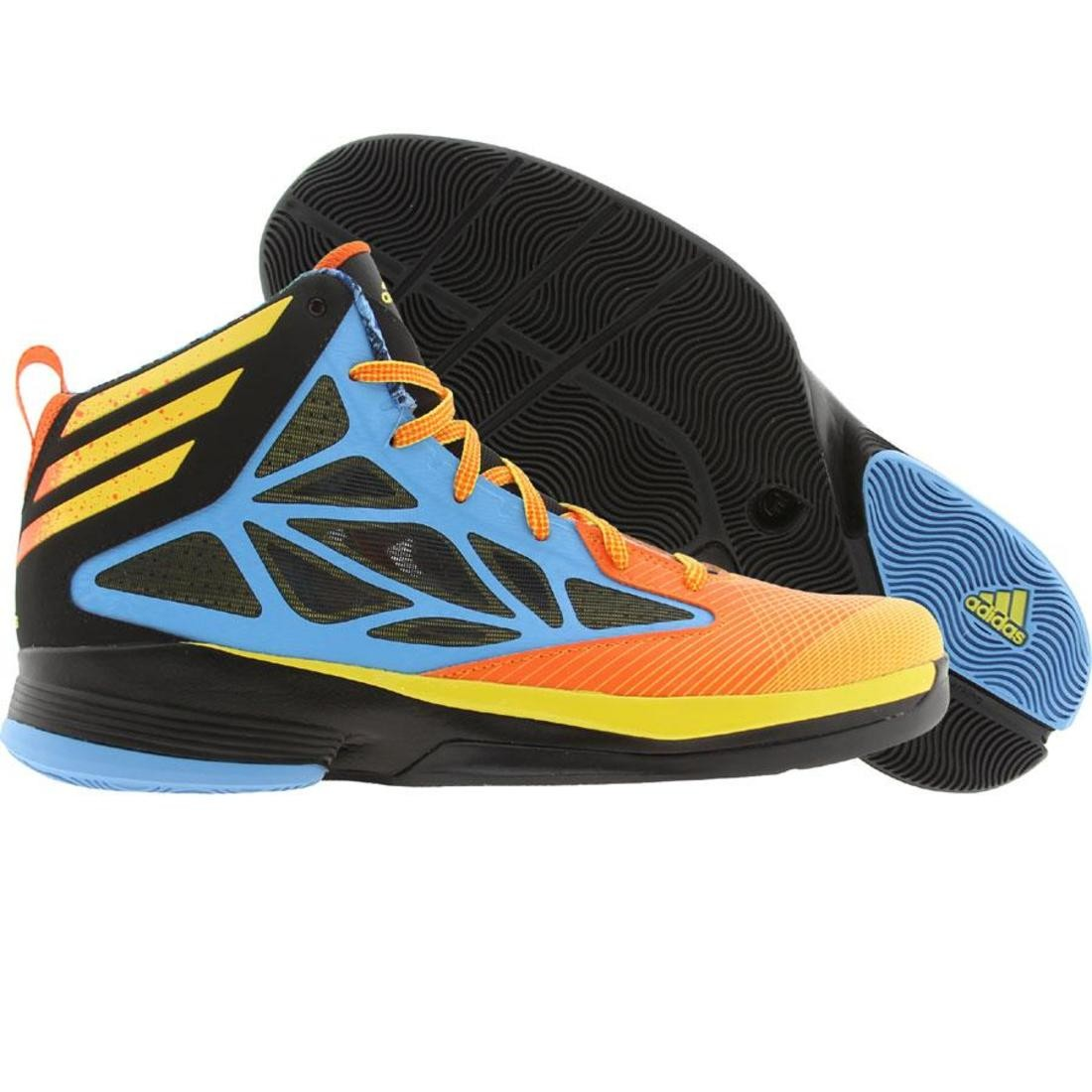 Adidas Men Crazy Fast (joy blue / vivid yellow / orasld)