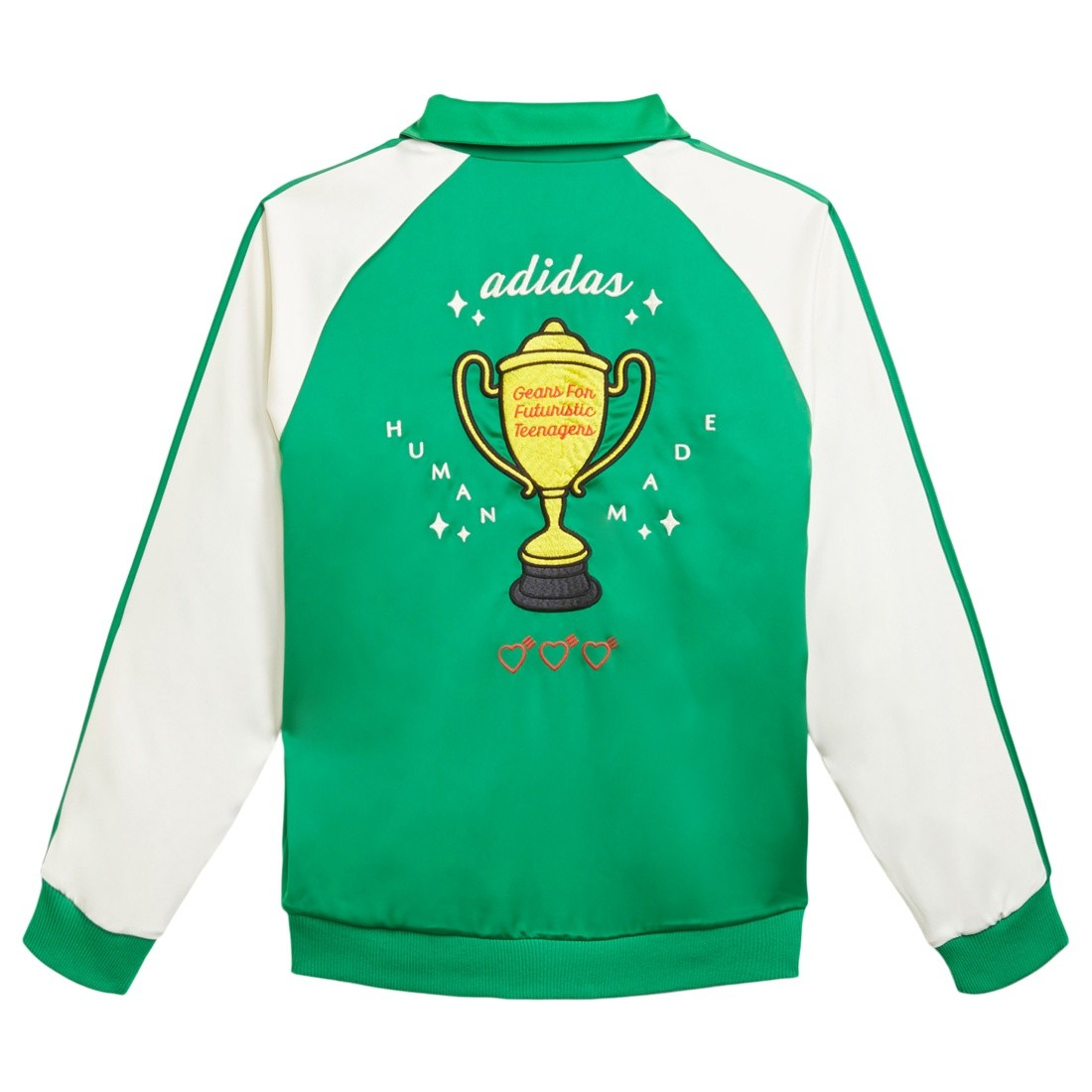 Adidas x Human Made Men Firebird Track Jacket (green)
