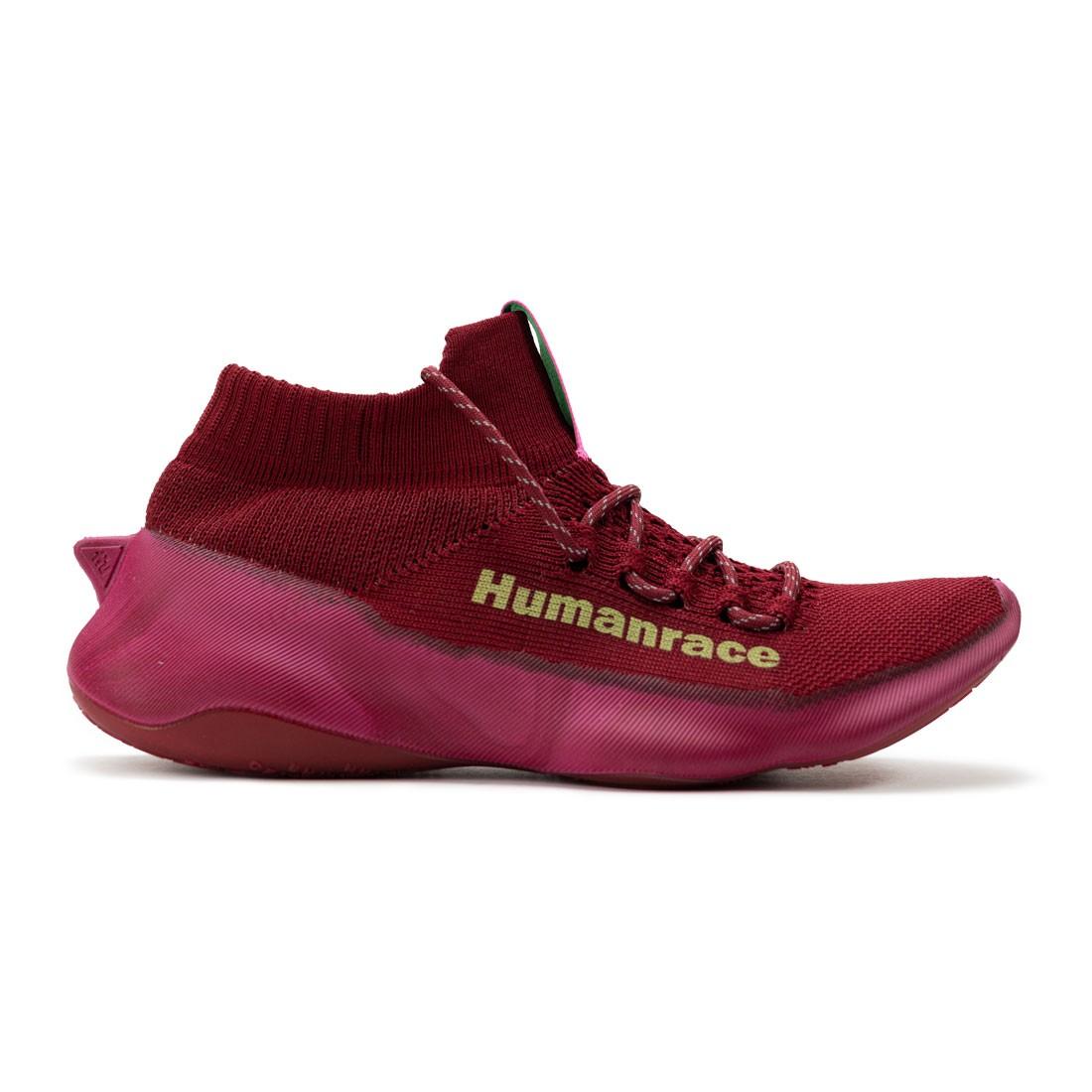 Adidas x Pharrell Williams Men HumanRace Sichona (burgundy / collegiate burgundy / screaming pink / signal green)