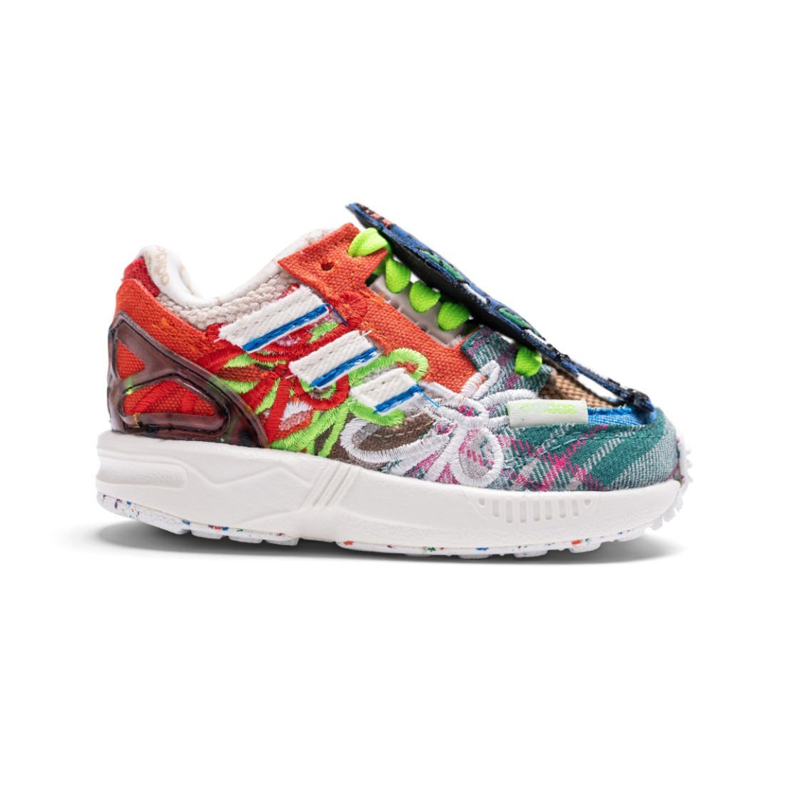 Adidas Infants ZX 8000 Wotherspoon Superearth (white / off white / blue bird / red)