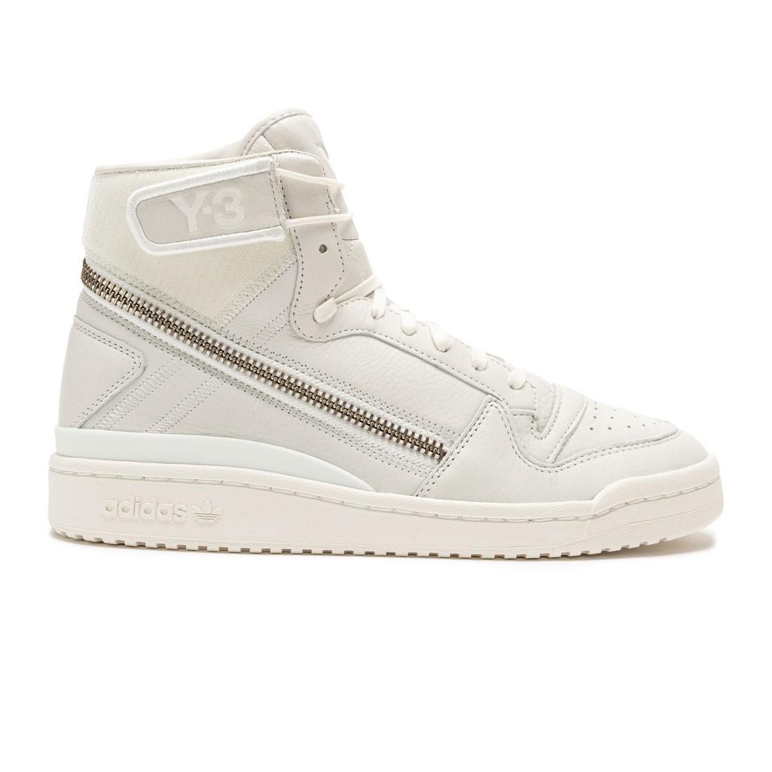 Adidas Y-3 Men Forum Hi OG (white / non dyed / core white)