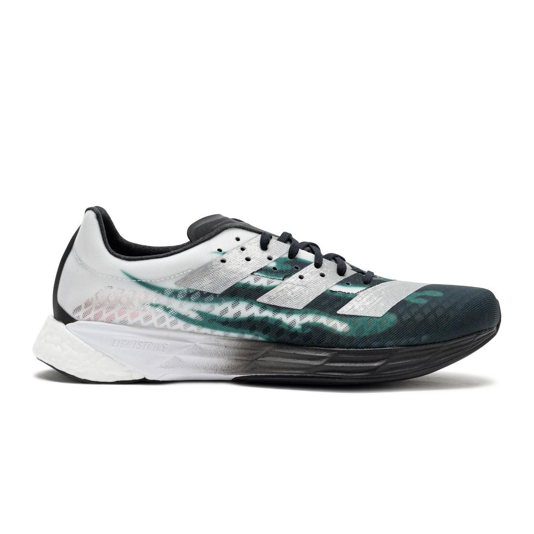 Adidas Men Adizero Pro Boston Marathon (white / silver metallic / eqt green)