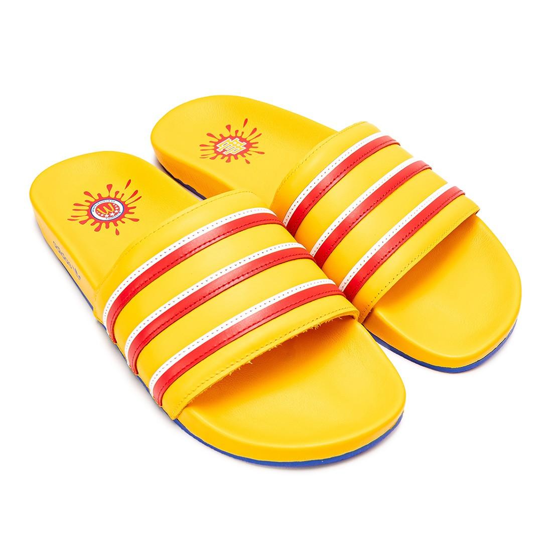 Adidas x Eric Emanuel Men McDonald's All American Game Adilette Slide (gold / bold gold / red / footwear white)