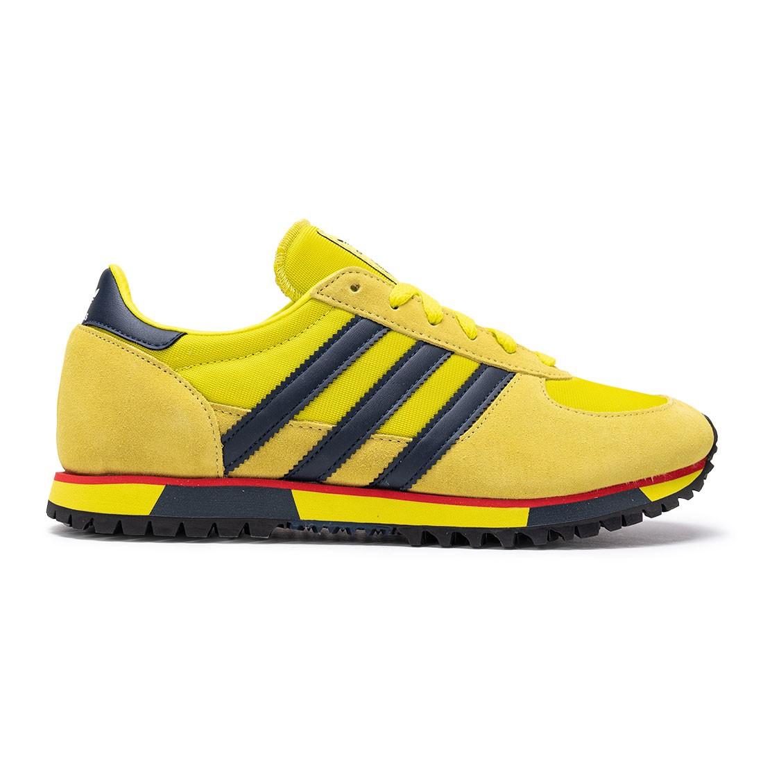Adidas MenMarathon 86 SPZL (yellow / shock slime / collegiate navy / yellow spice)